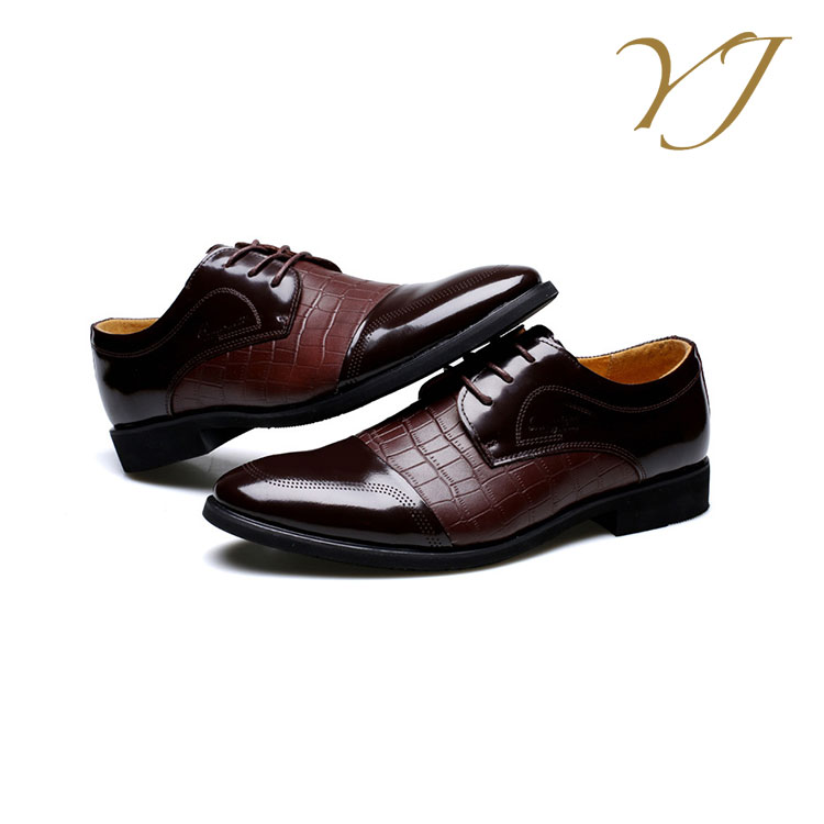 leather OEM Custom professional men shoes genuine italian nice handmade YxUfpq