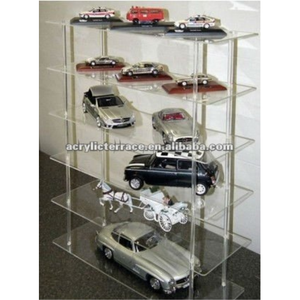 Acrylic Display Shelving Unit 5 Shelves Suite Die Cast Models New Boxed