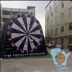 customize inflatable dart game/inflatable soccer darts