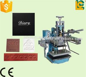 Dongguan leather logo embossed hot stamping machine for leather bagTH-310-1