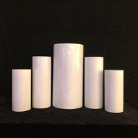 Star spring different size cylindrical shape dessert cake display plinth stand wedding event and party suppliers