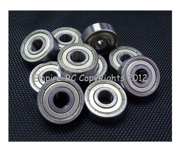 (4 PCS) 628ZZ (8x24x8 mm) Metal Shielded Ball Bearing Bearings 628z