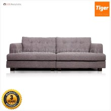 2016 New Design wholesale designer italian style fabric couch loose furniture