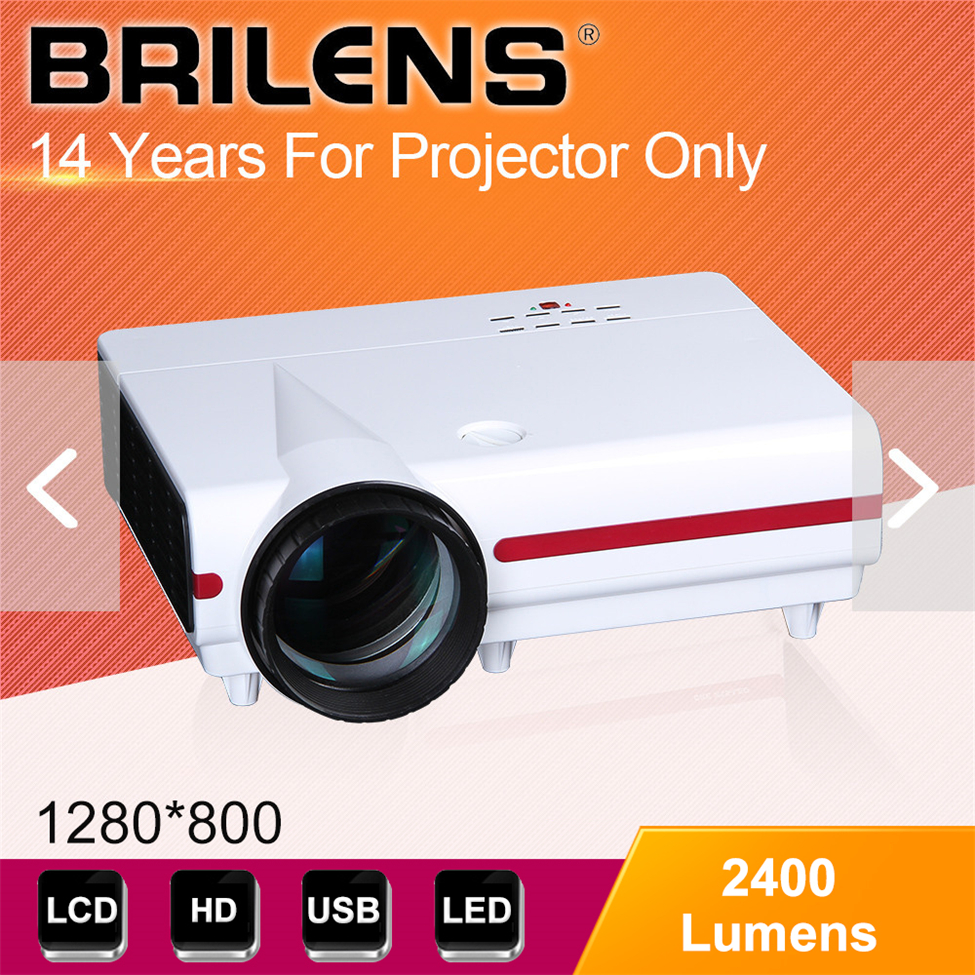 1920x1080 Android system projector Built with wifi, computer projector