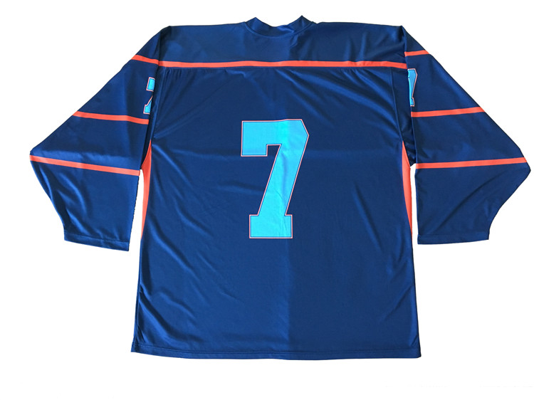Wholesale factory direct price fashionable fancy hockey jersey