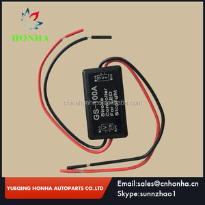 12V GS-100A LED Brake Stop Light Strobe Flash Module Controller Box For Car electrical wire harness