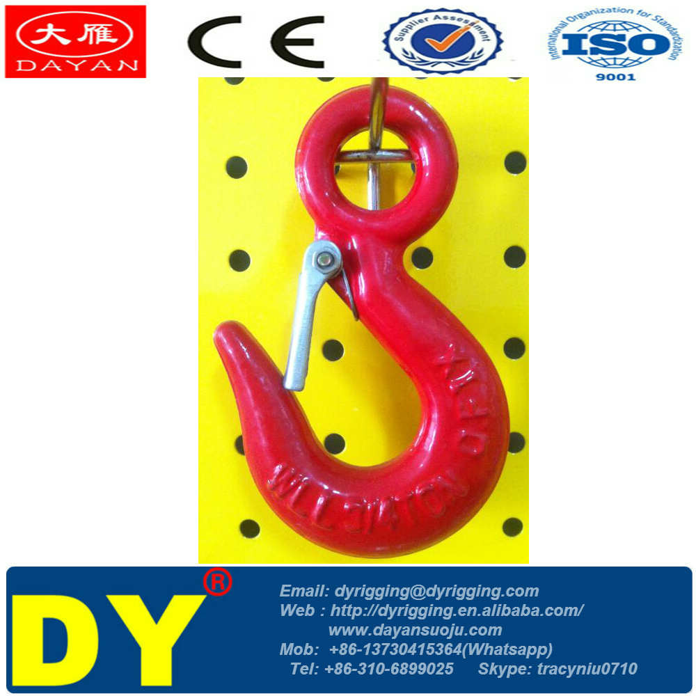 U.S Type LIFTING COMPONENTS Eye Hook 320A/C with Safety Catch