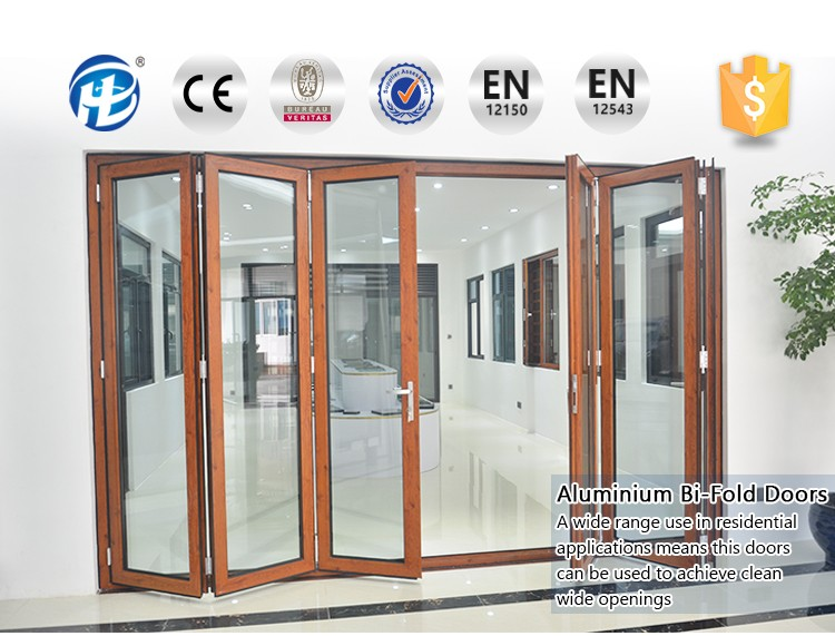 Buy Direct From China Factory Single Glass Polycarbonate Folding Door & Buy Direct From China Factory Single Glass Polycarbonate Folding ...
