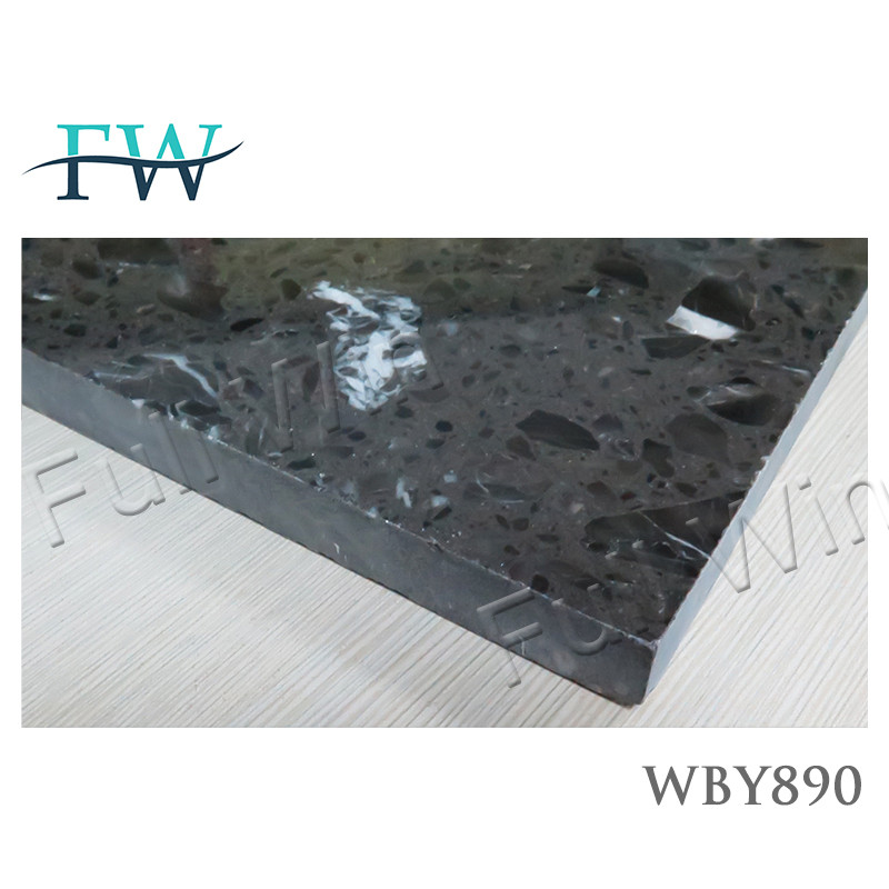 600*600mm artificial marble anti-fading tourmaline tile
