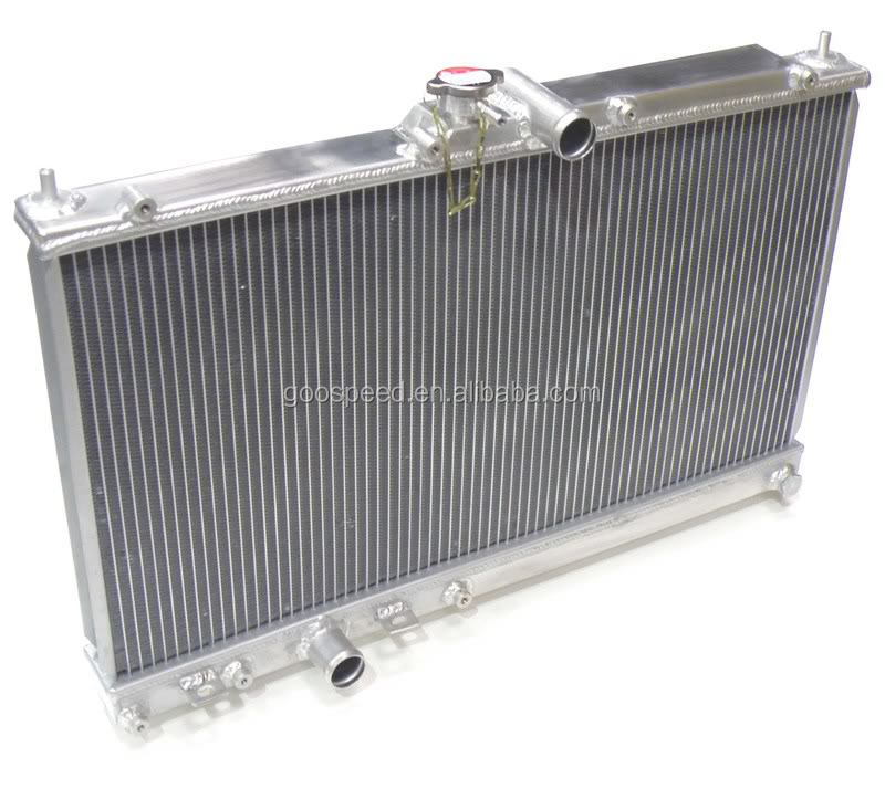 2 rows all aluminum Auto radiator for Sentra Spec-V 2008