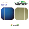 Bluesun cheap wholesale individual solar cell price 156/156