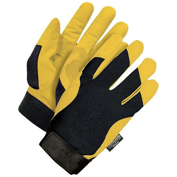 NEWSAIL 3M thinsulate lined warm working gloves/double palm mechanical gloves/men's winter safety gloves