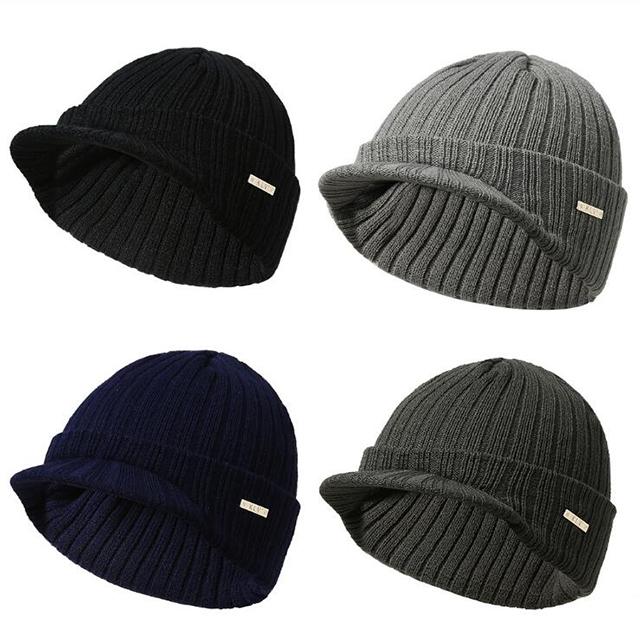 2e9b57f22c8 China winter knit brim beanie cap wholesale 🇨🇳 - Alibaba