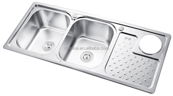Sc-308b 1.2m Double Drainer Stainless Steel Kitchen Sink - Buy ...