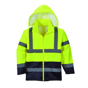 OEM customize hot sale alibaba china Guangzhou factory 100 polyester reflective safety workwear reflective jacket suit