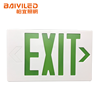 Best Selling Green Led Running Man Lighted Metal Exit Sign
