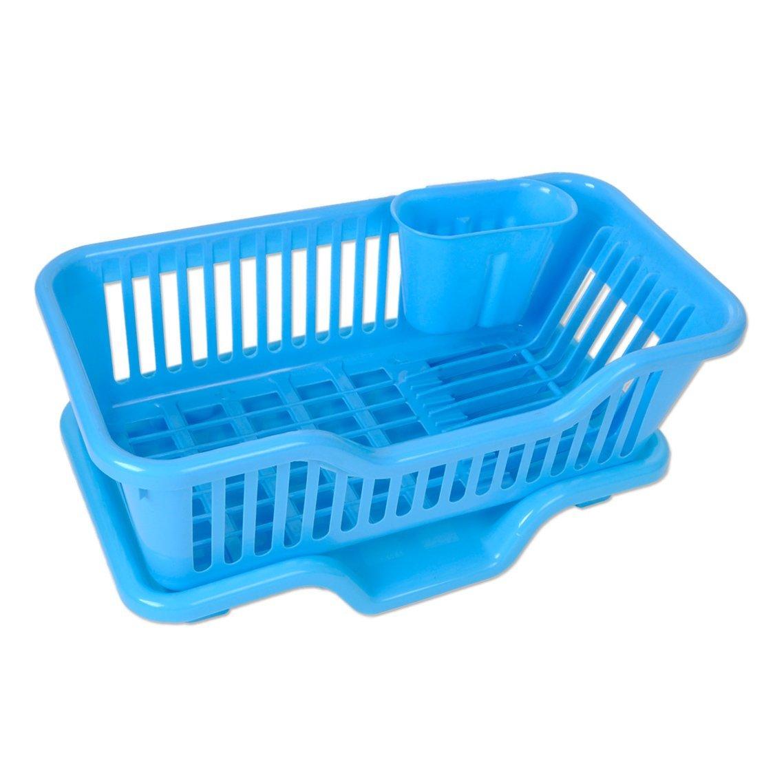 Buy Kitchen Sink Dish Plate Drainer Drying Rack Washing Organizer ...