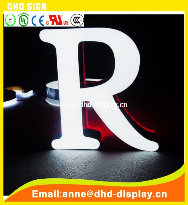 Acrylic Outdoor Light Up Letters / Lighted Sign Letters / Led ...