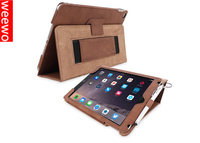 New Crazy Horse Texture Smart Genuine Cowhide Leather Cover for iPad 4