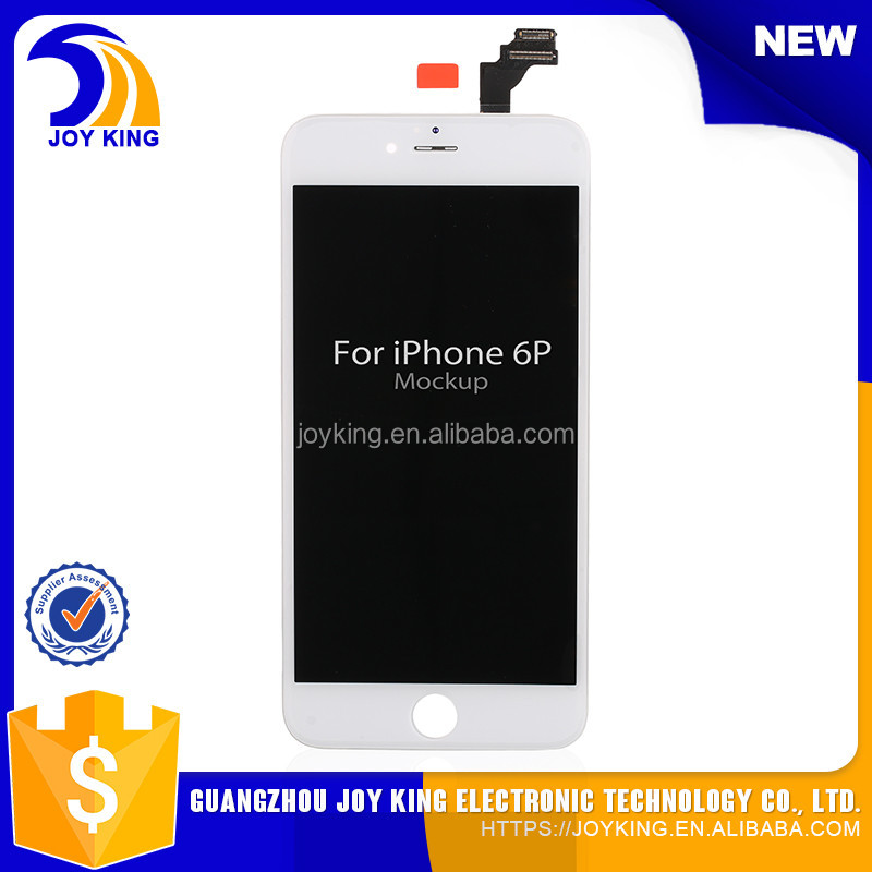 one year warranty brand new 5.5 inch lcd for iphone 6 plus lcd with touch digitizer assembly