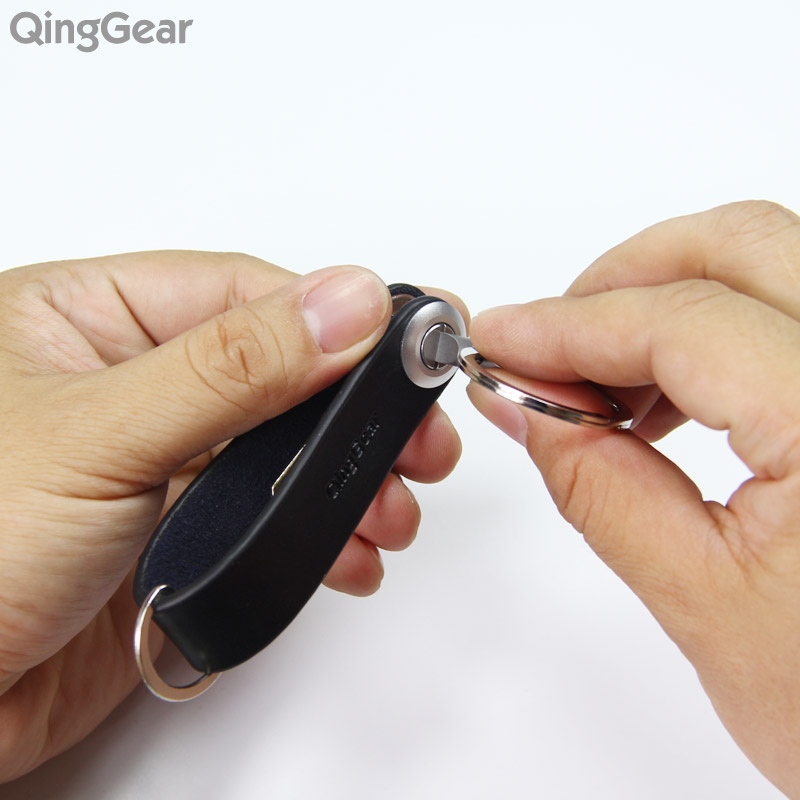 QingGear Mini fix tool EDC pocket screwdriver with cross head and flat head phillips screwdriver