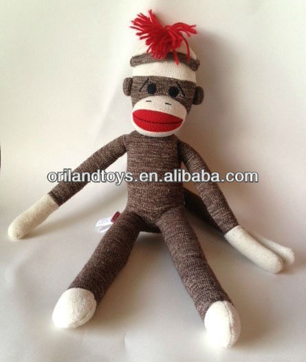 "20"" Collectable wholesale sock monkeys"