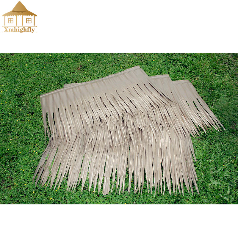 UV-protection fire resistant synthetic thatch manufacturer