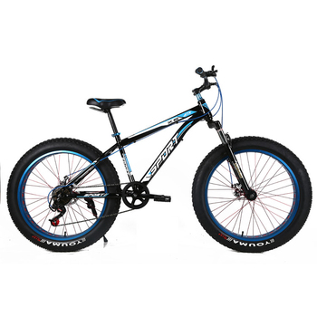 Factory OEM beer bike 26*4.0 snow fatbike,18 speed downhill fat bicycle  stock ,snow bike with high quality from China