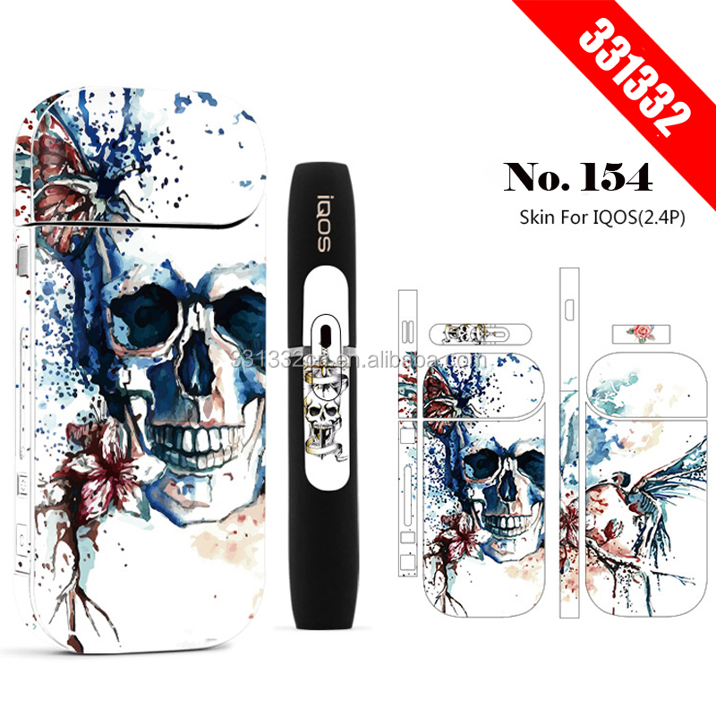 OEM custom IQOS sticker skin for iqos sticker 3M Adhesive printing label sticker skin protector for IQOS 2.4 plus фото