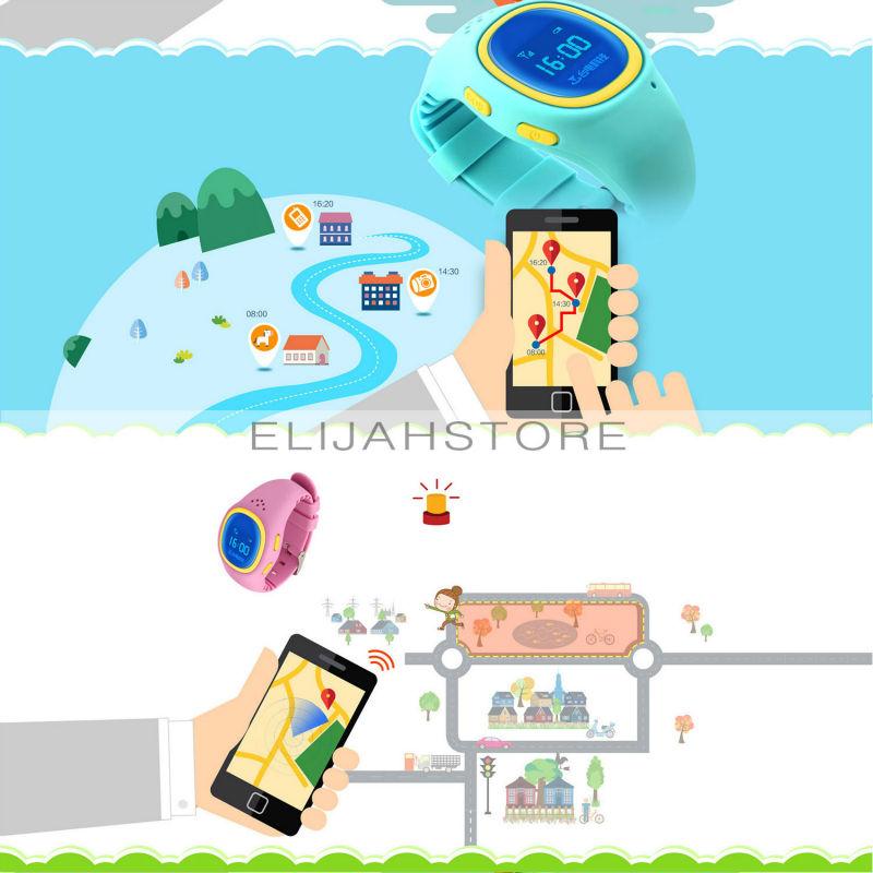 Дети умные часы Teclast T8 детей Smartwatch анти-потерянный Smartwatch GSM GPRS GPS локатор трекер сигнализация