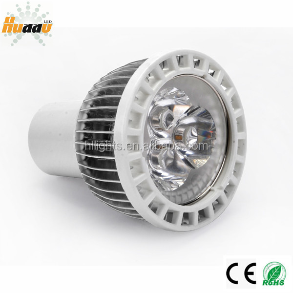 Gu5.3 mr16 gu10 led spotlight 3 w led aquarium spot light