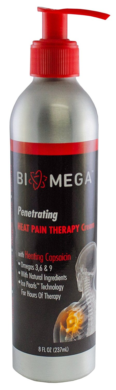 buy biomega penetrating heat pain therapy cream 8 fl oz 1 bottle