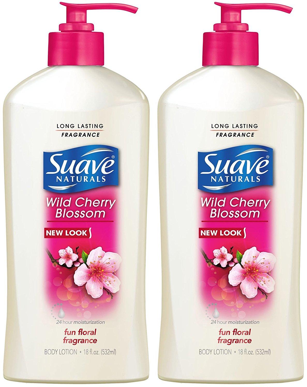 Suave Hand and Body Lotion - Wild Cherry Blossom - 18 oz - 2 pk
