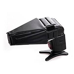 pangshi Snoot Reflector Flash Diffuser Softbox for Canon 600EX 580EX 580EXII 430EX 420EX, YongNuo YN-568EX YN565 YN560 YN460 II, Nikon SB-910 SB-900 SB800 SB700 SB600,Canon Nikon Sony Penatx Mezt