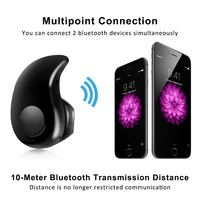 Mini Ultra-small S530 4.0 Stereo Bluetooth Headset Earphone Earbud for Iphone,samsung,and Other Bluetooth Devices