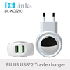 Universal New Hot Products Magnetic Quick Charging Portable Smart Mobile Phone Accessories Dual Usb Travel Charger For iPhone