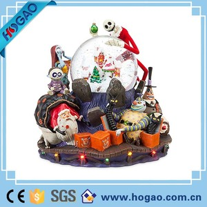 2016 Creative halloween decoration resin sonw globe