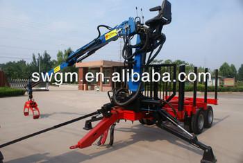 8 ton log loading anh nger mit kran f r 70 100hp traktor buy product on. Black Bedroom Furniture Sets. Home Design Ideas
