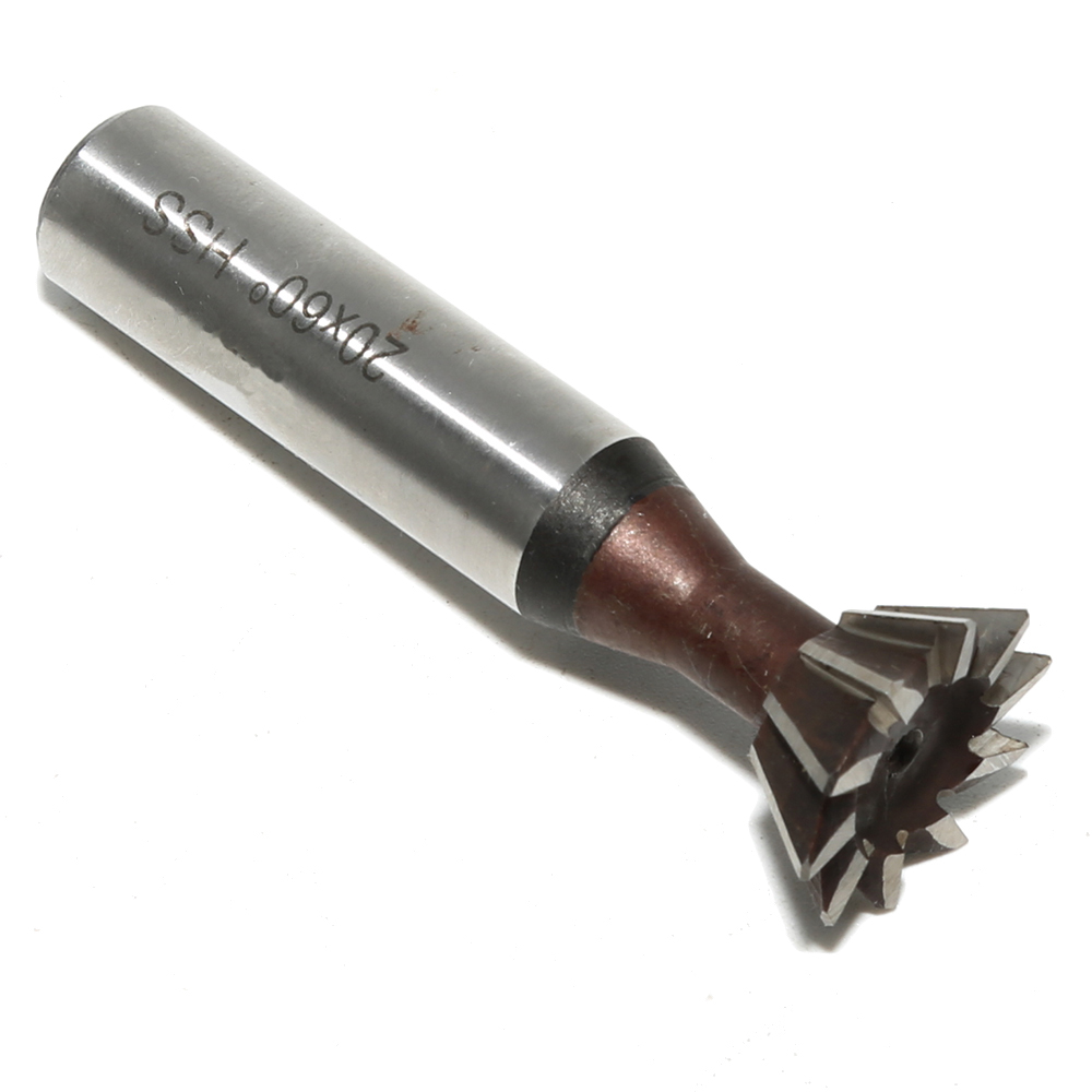 Tools Dovetail Cutter End Mill 60 Degree 10mm Replacement Practical Metalworking