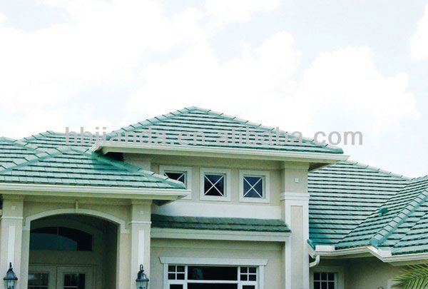 Colorful asphalt shingles roof tile factory sale