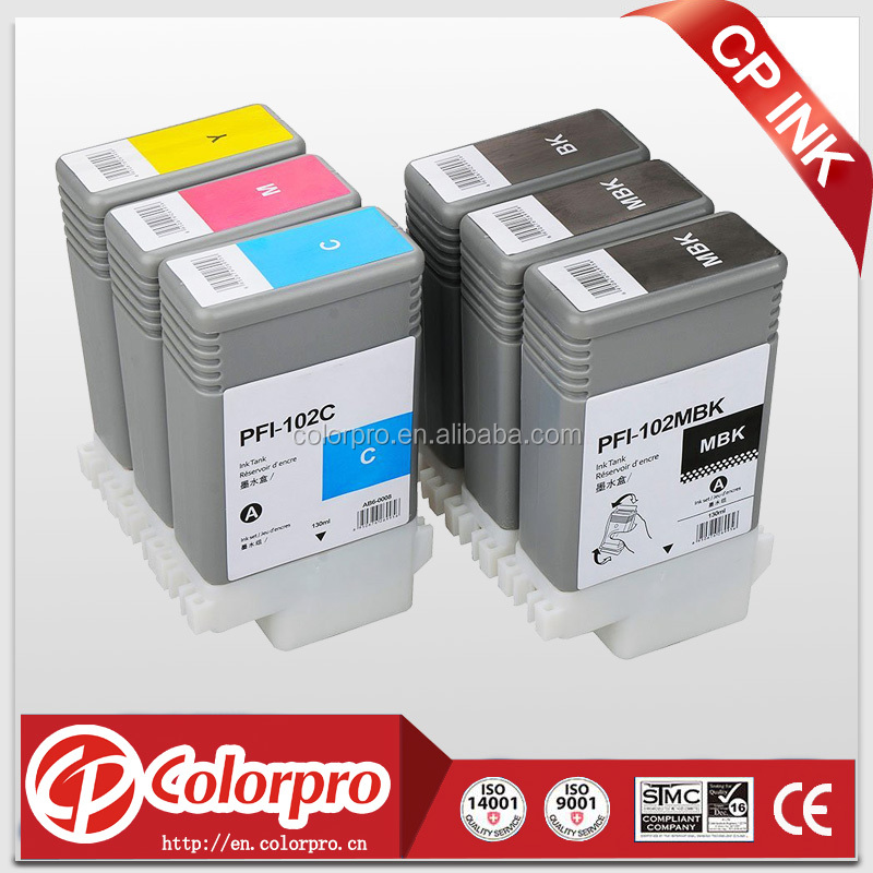 For canon ink cartridges prices pfi-102 IPF500 IPF510 IPF600 IPF610 IPF605