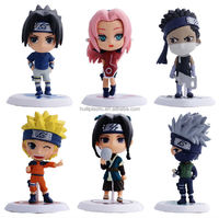 Custom make plastic toy anime collection,custom design plastic anime toy collections