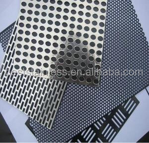 5mm Micro Hexagonal Stainless Steel Perforated Metal Sheet Price m2