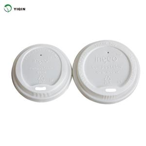 Wholesale Biodegradable Customized Disposable Paper Coffee Cups Lids Cover