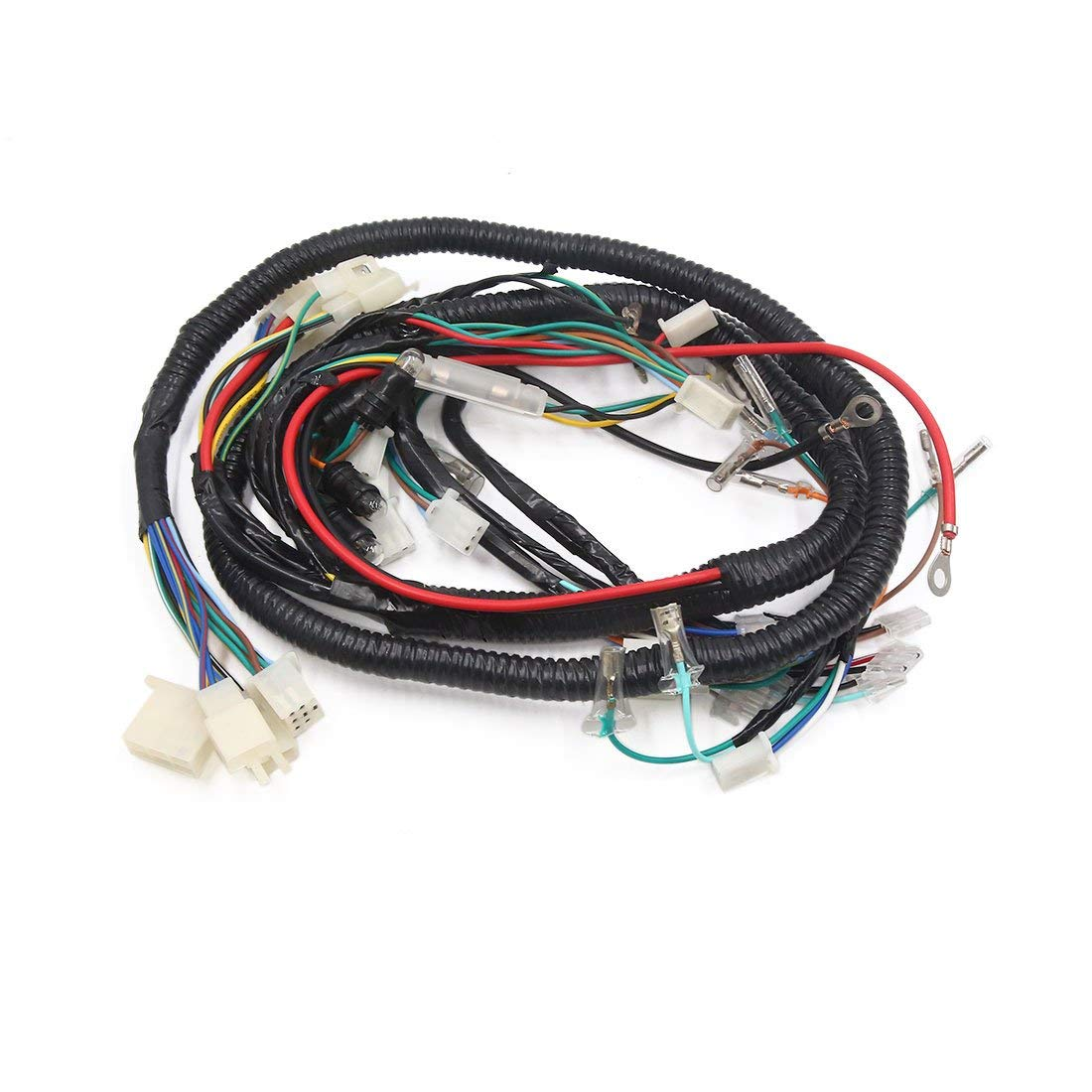 Cheap E Scooter Wiring Find Deals On Line At Main Wire Harness Get Quotations Uxcell Female Motorcycle Electrical Cable Assembly Black