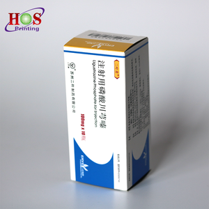 Customized Paper Printing Tablet Medicine Pills Injection Bottle Packaging  Medicine Box Design for Patient
