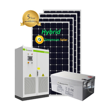 20kw 50kw 100kw 150kw hybride zonne-energie thuis systeem op grid off grid 20kw 50kw 150kw solar power station