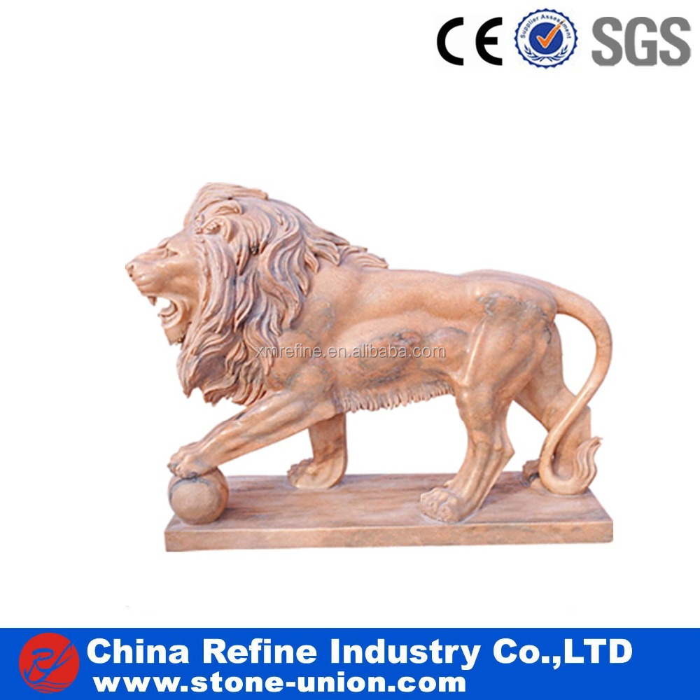 Chinese stone classical lion sculpture factory wholesale