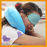 hot inflatable u shape travel neck pillow set camping travel pillow cushion for travel for promotional GBEY-915