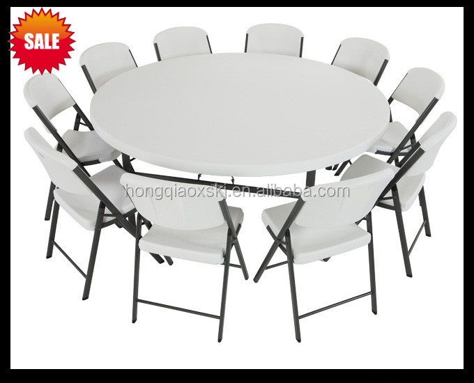 Plastic folding dining table : 71inch plastic folding round table camping garden from yucatanhomeinspect.com size 680 x 550 jpeg 58kB